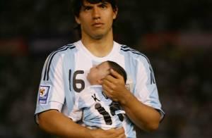 Le footballeur Sergio Agüero a trouvé son porte-bonheur : son fils !