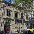 L'hôtel de Pourtales à Paris ou résidait Kim Kardashian lors du braquage dans la nuit du 2 au 3 octobre 2016.