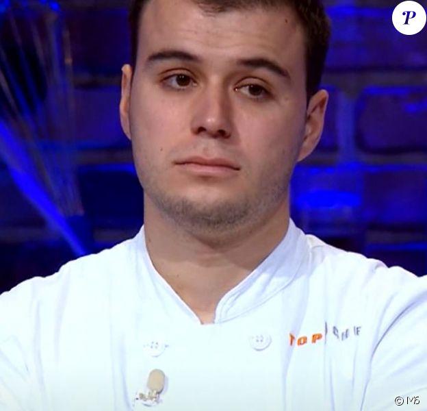 """Adrien dans """"Top Chef"""" (M6), épisode diffusé mercredi 11 avril 2018."""