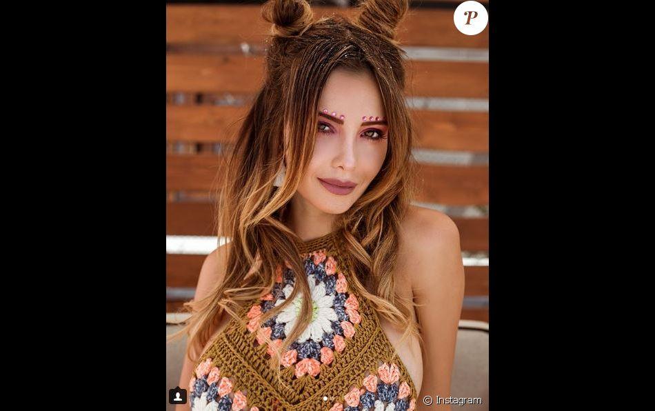 Nabilla Benattia lors du festival de Coachella. Instagram, avril 2018.
