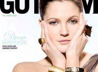 Drew Barrymore pose, quelques bijoux et... puis c'est tout  !