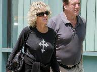 Farrah Fawcett, atteinte d'un cancer, est de retour à Los Angeles... en très petite forme !