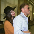 Emily Ratajkowski et son mari Sebastian Bear-McClard. Février 2018.
