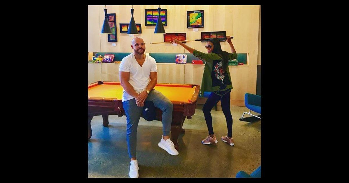 K Michelle And Chad Johnson Michelle Williams et C...