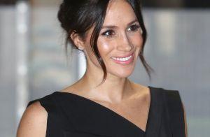 Meghan Markle : Un nouveau look réussi en petite robe noire
