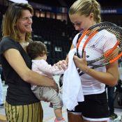 """Amélie Mauresmo en famille pour la Fed Cup : Un """"kif"""" avec Aaron et Ayla"""
