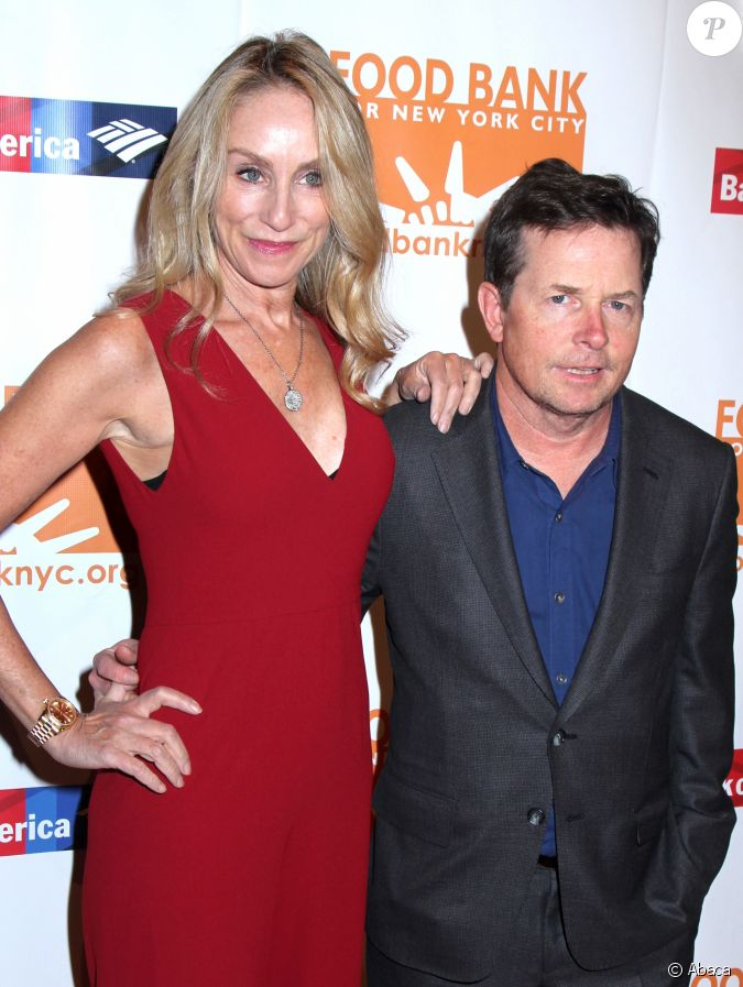 Tracy pollan et michael j fox d ner can do awards 2017 for Michael j fox and tracy pollan love story