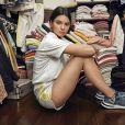 """Kendall Jenner, égérie de la basket """"Akryn"""" pour adidas Originals."""