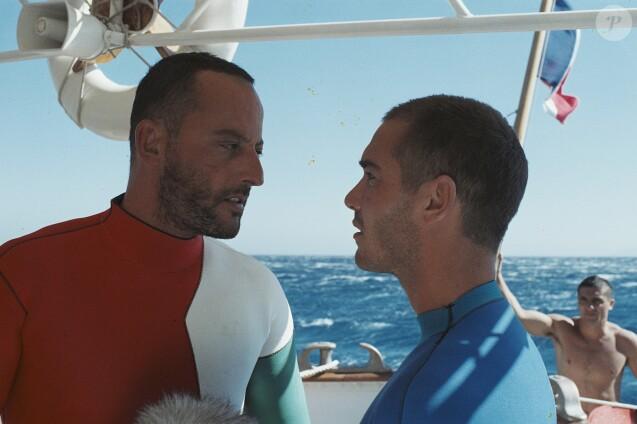 Jean Reno et Jean-Marc Barr dans Le Grand Bleu