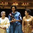 Michelle Obama au Royal Opera de Londres. 02/04/09