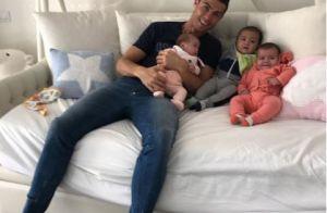 Cristiano Ronaldo : Nouveaux portraits de ses trois bébés qui ont bien changé
