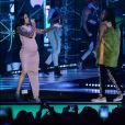 Cardi B et Ozuna aux Latin Billboard Music Awards à Las Vegas. Le 26 avril 2018.