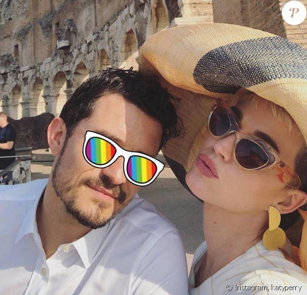 La Chapelle Sixtine, le Colisée, une rencontre officielle avec le pape François : un week-end riche en rebondissements pour Katy Perry et Orlando Bloom à Rome, ce week-end du 28 et 29 avril 2018.