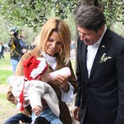 Christian Estrosi, Laura Tenoudji et Bianca : Moment complice en famille à Nice