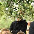 Exclusif - Laura Tenoudji et ses enfants Milan et Bianca - Christian Estrosi (le maire de Nice) et sa femme Laura Tenoudji ont fêté en famille le 1er mai dans les jardins de Cimiez pour la Fête des Mai à Nice, le 1er mai 2018. © Bruno Bebert/Bestimage