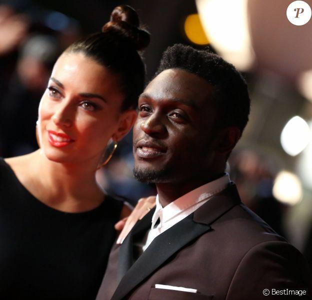 Corneille et sa femme Sofia de Medeiros - 16e édition des NRJ Music Awards à Cannes. Le 13 décembre 2014