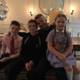 Ce 2 mai 2018, David Beckham fête ses 43 ans entouré de sa famille.