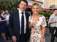 Christian Estrosi et sa femme Laura amoureux face à Amanda Lear à Nice