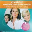 Affiche de campagne d'IMAGYN (Initiative des MAlades atteintes de cancers GYNécologiques). Mai 2018.