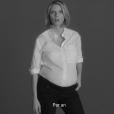 Sylvie Tellier - Les stars se mobilisent pour le  1er spot de campagne IMAGYN (Initiative des MAlades atteintes de cancers GYNécologiques). Mai 2018.