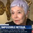 Csilla   Rady, la mère de Kristina Rady (ex-compagne de Bertrand Cantat qui s'est donné la mort en 2010), interviewée pour BFMTV le 7 mai 2018.