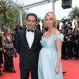 Sylvie Tellier enceinte et son mari Laurent - Montée des marches du film «Plaire, aimer et courir vite» lors du 71ème Festival International du Film de Cannes. Le 10 mai 2018 © Borde-Jacovides-Moreau/Bestimage