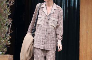 Laeticia Hallyday : Souriante en look pyjama pour une journée détente entre amis