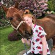 La fille de Ronan Keating, Ali, sérieusement blessée après une chute de cheval le 8 mai 2018.