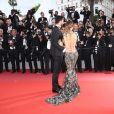 """Thomas Vergara et Nabilla Benattia - Montée des marches du film """"'Solo: A Star Wars Story"""" lors du 71e Festival International du Film de Cannes le 15 mai 2018."""