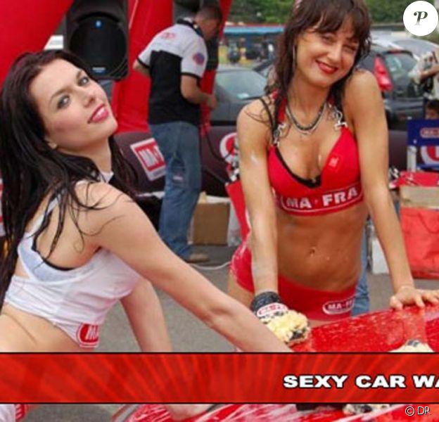 Votre voiture est sale ? Venez répondre aux questions de Sexy Car Wash, ces demoiselles se feront un plaisir !