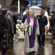 - Obsèques de Maurane en l'église Notre-Dame des Grâces à Woluwe-Saint-Pierre en Belgique le 17 mai 2018.