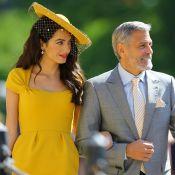 Amal Clooney au mariage royal : Divine en jaune au bras d'un certain George...