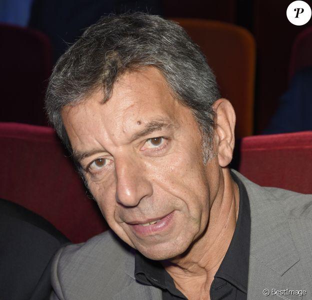 Michel Cymes - Conférence de rentrée de la station de radio RTL à Paris. Le 13 septembre 2017 © Coadic Guirec / Bestimage