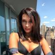Bella Hadid sur une photo publiée sur Instagram le 27 août 2017