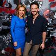 Sandrine Groslier (Présidente de Clarins Fragance Group) et Vincent Dedienne - Soirée du lancement du parfum masculin 'Wanted by night' par Azzaro au Yoyo à Paris le 24 mai 2018.