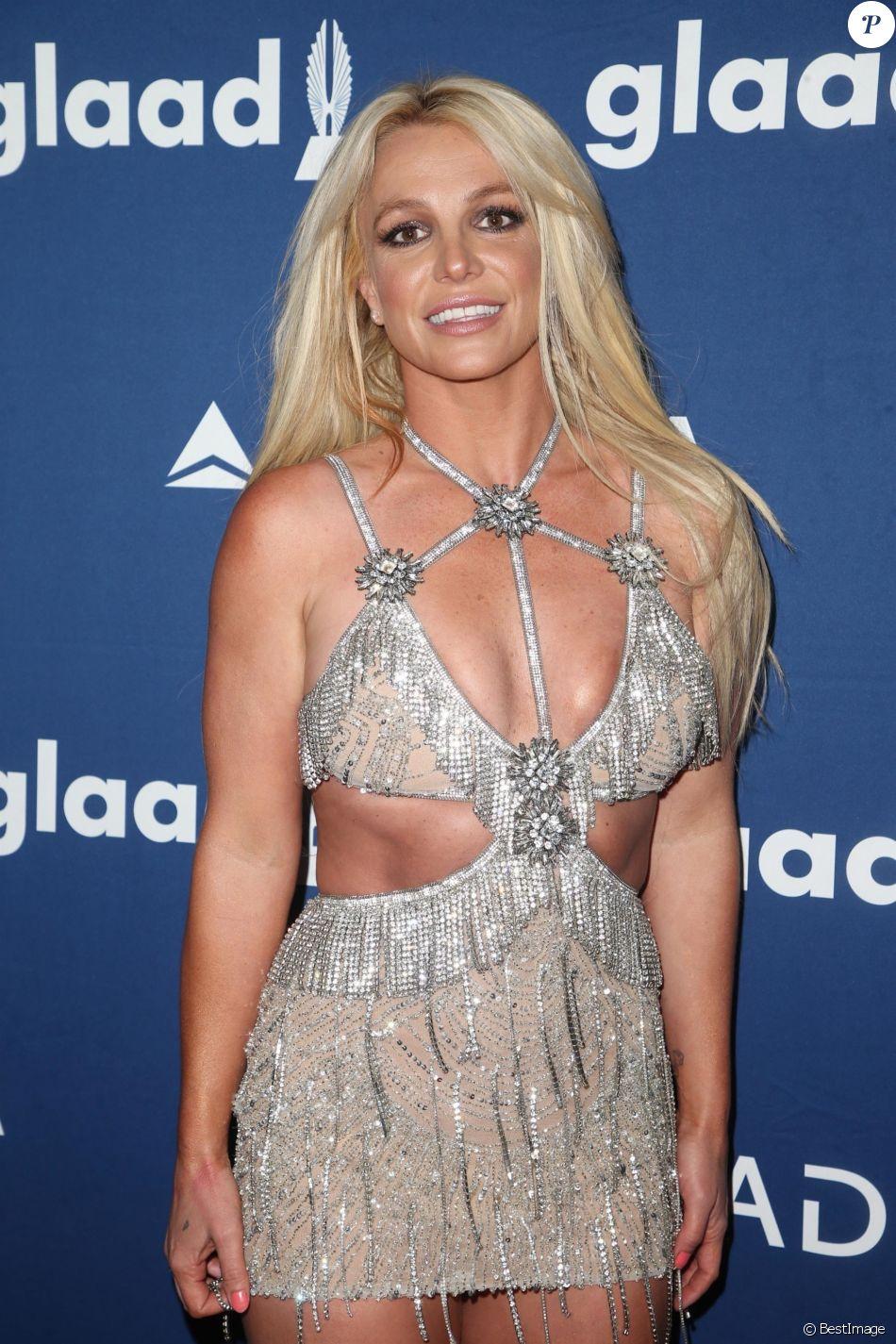 Britney Spears à la soirée GLAAD Media Awards Rising Stars à l'hôtel Beverly Hilton à Beverly Hills, le 12 avril 2018