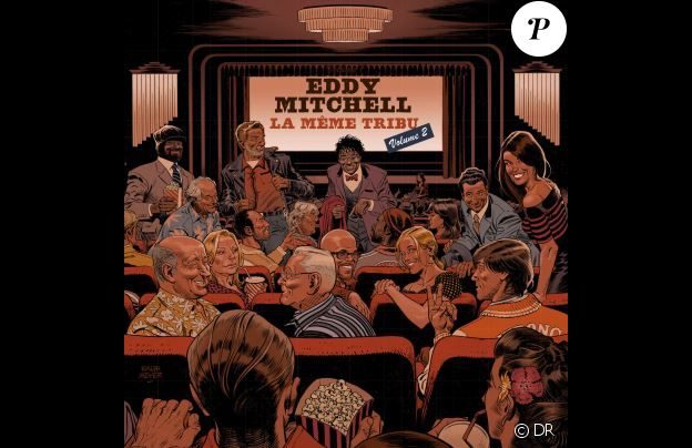Eddy Mitchell - La Même Tribu volume 2 - disponible le 24 mai 2018.