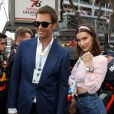 Tom Brady et Bella Hadid au 76ème Grand Prix de Formule 1 de Monaco, le 27 mai 2018. © Olivier Huitel/Pool Monaco/Bestimage
