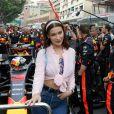 Bella Hadid - People au 76ème Grand Prix de Formule 1 de Monaco, le 27 mai 2018. © Cyril Dodergny/Nice Matin/Bestimage