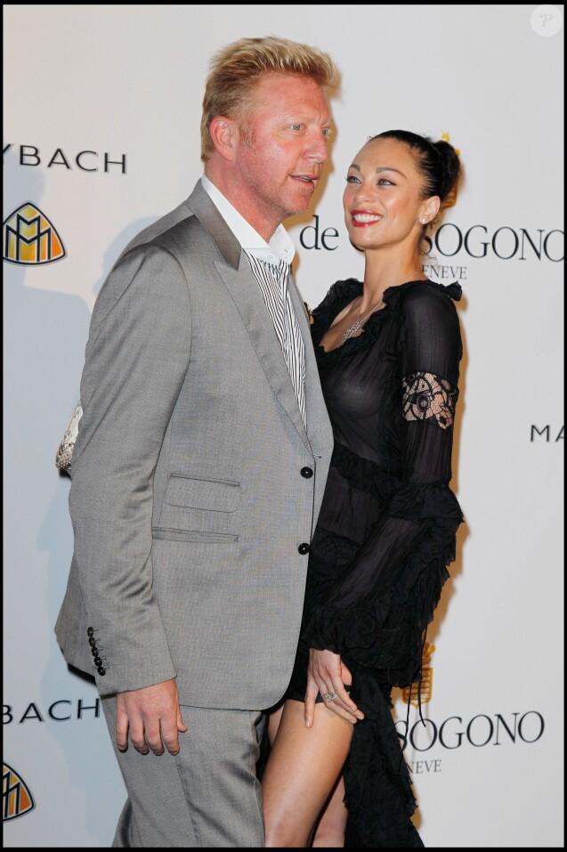 Boris et Lily Becker - Soirée De Grisogono lors du 64e Festival international du film de Cannes, le 17 mai 2011.