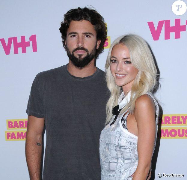 """Brody Jenner et sa fiancée Kaitlynn Carter - People à la première de la série """"Barely Famous"""" saison 2 à West Hollywood. Le 14 juin 2016."""