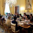 Le dîner organisé pour la Pâque juive par le président Barack Obama le 9 avril 2009 à la Maison Blanche