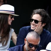Vianney et sa sublime chérie : Couple amoureux et joueur à Roland-Garros