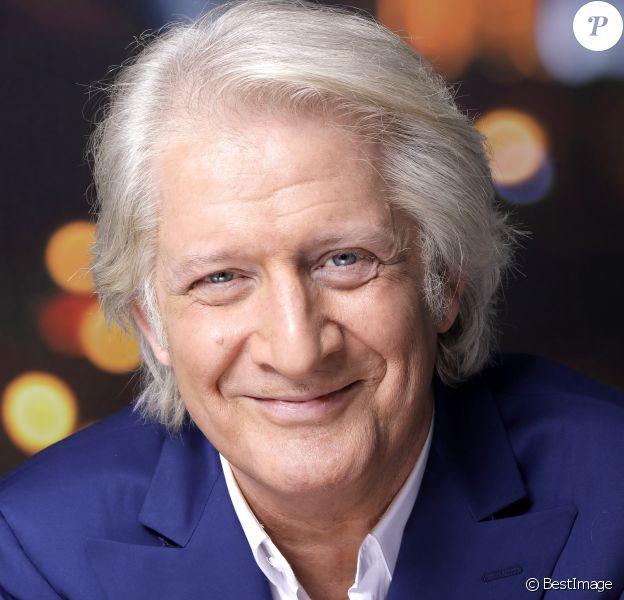 Portrait de Patrick Sébastien à Paris le 7 avril 2016.