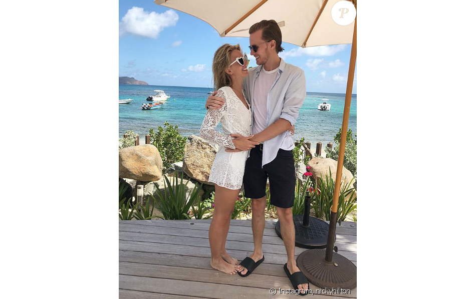 "Barron Hilton et  Tessa Gräfin von Walderdorff se sont dit ""oui"" ce 3 juin 2018."