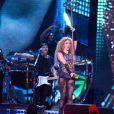 La chanteuse Shakira en concert à Hambourg, Allemagne, le 3 juin 2018.