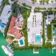 La chanteuse Shakira a mis en vente sa propriété de Miami Beach pour 11,6 millions de dollars, à Miami, Floride, Etats-Unis, le 2 juin 2018.