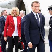 Brigitte Macron au Canada : L'élégante tenue symbolique de la première dame