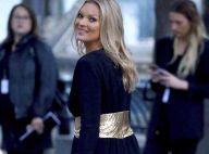 Kate Moss : Sexy avec Charlotte Gainsbourg au défilé Saint Laurent