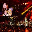 """Exclusif - Amel Bent - Enregistrement de l'émission """"La chanson de l'année"""" dans les arènes de Nîmes, diffusée en direct sur TF1 le 8 juin © Bruno Bebert / Bestimage"""